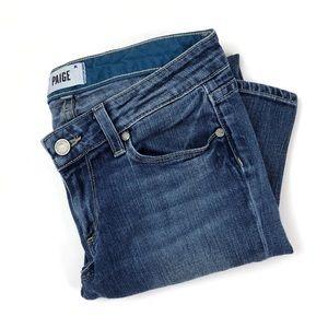 Paige Skyline Ankle Peg crop skinny denim jeans